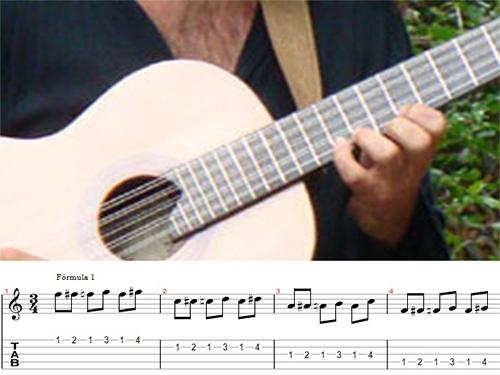 Técnicas Simples de digitação da mão esquerda para viola caipira e instrumentos de cordas dedilhadas