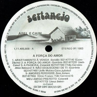 Abel-Caim-1983-A-Forca-do-Amor