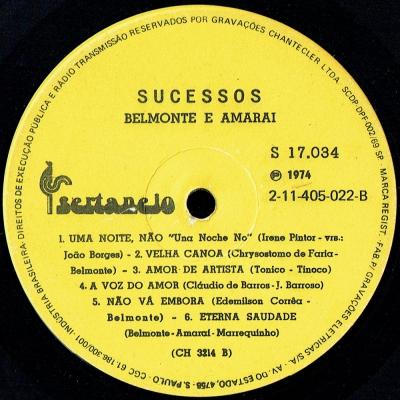 Belmonte_Amarai_1969_Sucessos_S17034