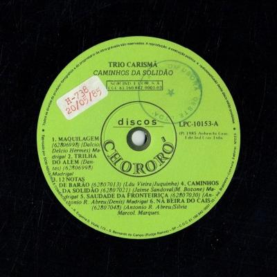 trio_carisma_1985_caminhos_da_solidao