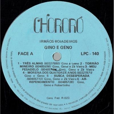 Trio Das Alterosas - Linel, Zé Branquinho e Paulinho (1979) (SERTANEJO 211405220)