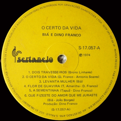 Bia_Dino_Franco_1974_O_Certo_da_Vida