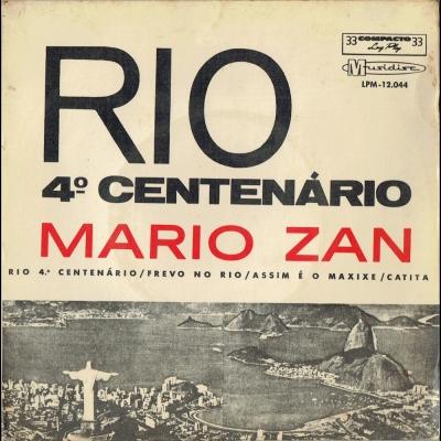 Rio 4º Centenário (Compacto Duplo) (MUSIDISC-LPM12044)