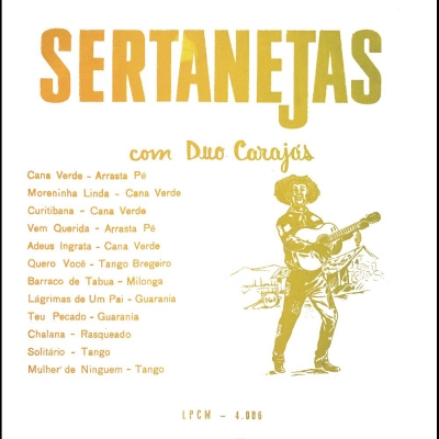 Sertanejas Com Duo Carajás (BEVERLY LPCM 4006)