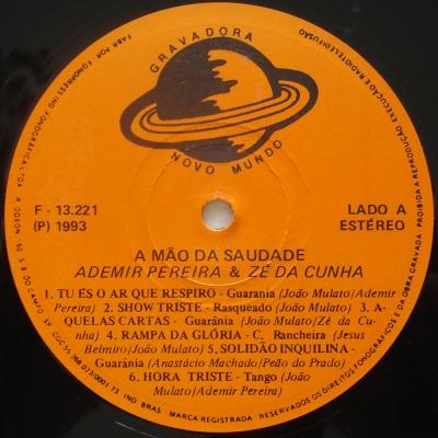 Ademir-Pereira-e-Ze-da-Cunha-1993-A-Mao-da-Saudade