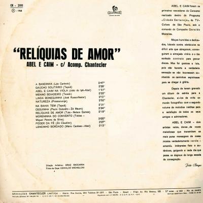 Abel-Caim-1968-Relíquias-de-Amor